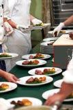 烹调装饰食物配制 免版税库存图片