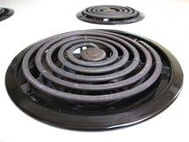 烹调要素火炉顶层 库存图片