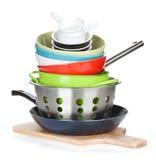 烹调设备 免版税库存图片