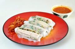 烹调越南语 库存图片