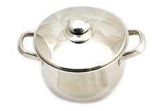 烹调金属罐 库存图片