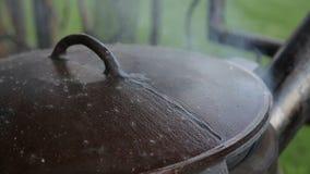 烹调食物在喀山 股票录像