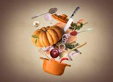 烹调食物 库存照片