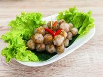 烹调,亚洲、泰国、开胃菜、艺术文化和Entertainme 免版税库存图片
