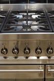 烹饪器材不锈钢 库存图片