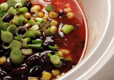 烹饪器材墨西哥慢的汤 免版税库存照片