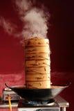烹饪器材蒸 免版税库存图片