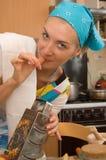烹饪器材 免版税库存图片