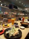 烹饪日语 免版税库存照片