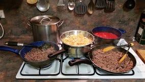 烹饪时间 免版税库存图片