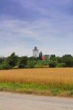 烽火台在Gedser,丹麦 图库摄影