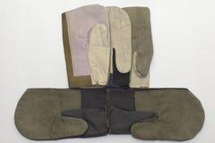 焊工的特别手套 图库摄影