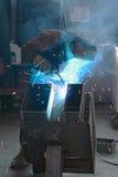 焊工 免版税库存图片