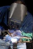 焊工 免版税图库摄影