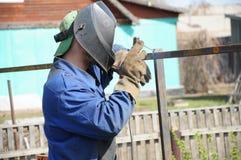 焊工锻件 免版税库存照片
