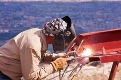 焊工2 免版税图库摄影