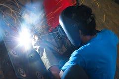 焊接产业 图库摄影
