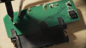焊接在芯片的联络 股票录像