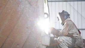 焊接在采矿业 股票视频