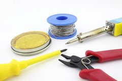 焊接工具,切口钳子 库存图片