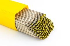 焊接电极导线。 库存图片
