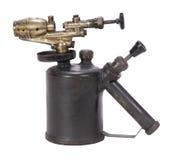 焊接的燃烧器 免版税库存照片