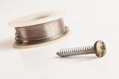 焊接的设备 免版税库存照片