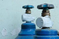 焊接的集气筒 免版税库存图片