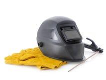 焊接辅助部件 库存图片