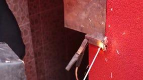 焊接金属HD 股票录像