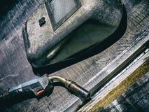 焊接齿轮 免版税库存照片