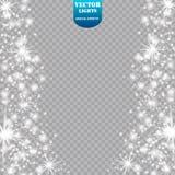 焕发光线影响 也corel凹道例证向量 圣诞节一刹那概念 库存图片
