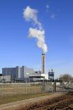 焚化装置工厂废物 库存图片