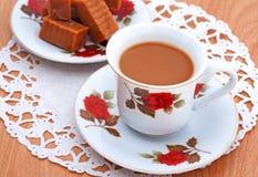 焦糖咖啡 免版税图库摄影