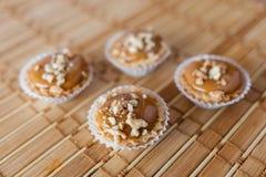 焦糖饼 免版税库存图片