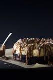 焦糖Bundt蛋糕 免版税库存照片