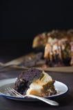 焦糖Bundt蛋糕 图库摄影