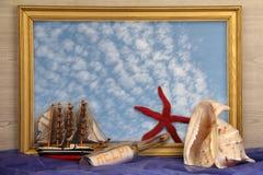 仍然生活海军陆战队员 免版税库存照片