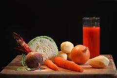 仍然生活蔬菜 免版税库存图片