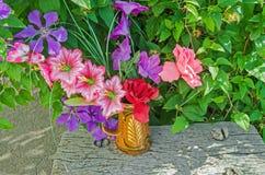 仍然花卉寿命 库存图片
