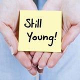 仍然年轻人 免版税库存图片