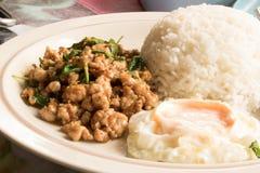 煎蛋卷米,便宜,昂贵,主任 免版税库存照片