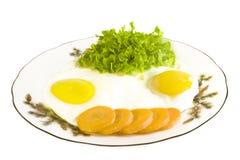 煎蛋卷 免版税库存照片