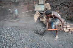 煤商 免版税库存图片