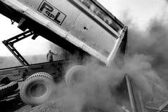煤屑 免版税库存图片