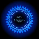 煤气喷燃器 免版税库存图片
