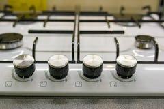 煤气炉控制板  免版税库存照片