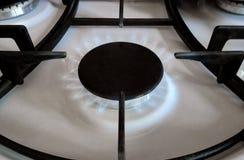 煤气炉燃烧器 免版税图库摄影
