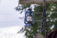 煤油灯偶尔地仍然使用了 图库摄影