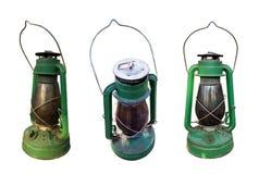 煤油灯被隔绝的集合 免版税库存图片